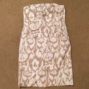 Michael Kors Strapless Dress with Pockets Size 10
